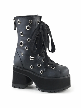 Pleaser Ranger-310 Lace Up Front Ankle Boot