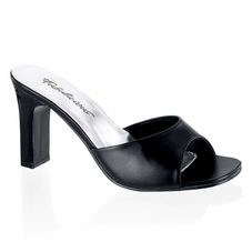 Pleaser Romance-301-2 Square Heel Slide