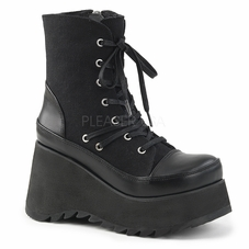 Pleaser Scene-50 Platform Lace-Up Ankle High Boot
