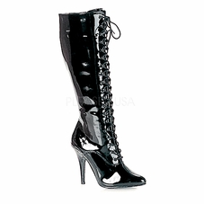 Pleaser Seduce-2020 Lace Up Knee High Boots