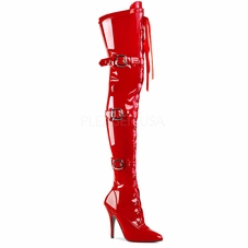 7b0b26682e39 Pleaser Seduce-3028 Stretch Thigh High Boots