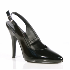 Pleaser Seduce-317 Closed Toe Sling Back Pump