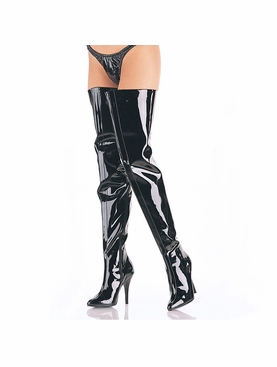 Pleaser Seduce-4010 Wide Top Crotch Boot