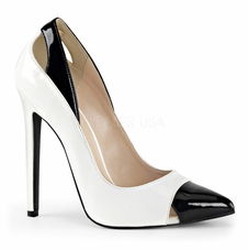 Pleaser Sexy-22 Sling Back Peep Toe Pump