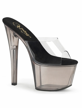 Pleaser Sky-301T Tinted Platform Slide