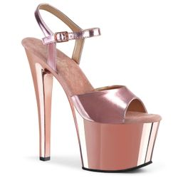 Pleaser Sky-309 Ankle Strap Platforms