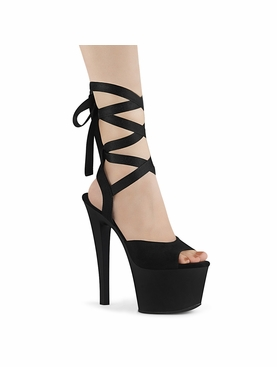 Pleaser Sky-334 Ankle Wrap Sandal