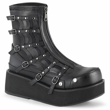 Pleaser Sprite-100 Ankle Boot W/Spider Design