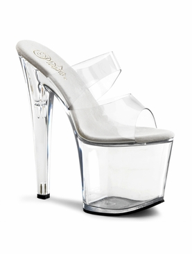 Pleaser Taboo-702 Two-Band Exotic Dancer Slide