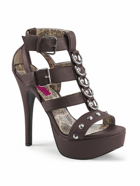 Pleaser Teeze-42W Strappy T-Strack Sandal