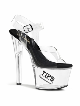 Pleaser TipJar-708-5 Exotic Dancer Heels