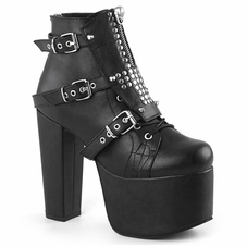 Pleaser Torment-713 Lace-Up Ankle Bootie