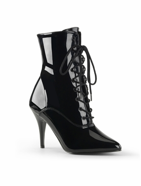Pleaser Vanity-1020 Lace Up Ankle Boot