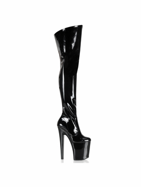 Pleaser Xtreme-3010 Thigh High Boot