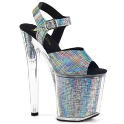 Pleaser Xtreme-808N-CHRM Ankle Strap Sandal