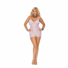 Plus Elegant Moments 44012X Diamond Design Babydoll