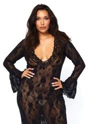 Plus Gowns-Chemise-Robes