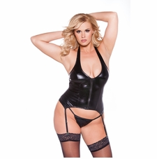 Plus Size Allure 11-1042XK Sexy Kitten Corset
