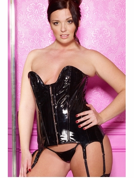 Plus Size Allure 11-3277X Vinyl Tiffany Corset