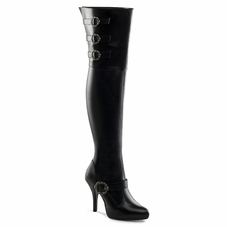 Plus Size Diva-3006X Wider Width Shaft Thigh High Boot