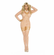 Plus Size Elegant Moments 1584Q Camisette And Stockings