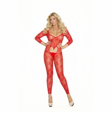 Plus Size Elegant Moments 1635Q Lace Bodystocking
