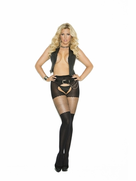 Plus Size Elegant Moments 1835Q Opaque Pantyhose