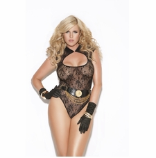Plus Size Elegant Moments 8593X Lacy Teddy