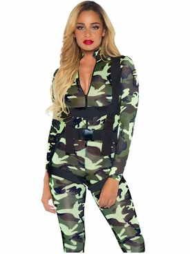 Pretty Paratrooper Role Play Costume