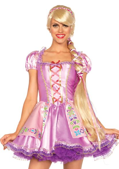 Sexy Blonde Roleplay Rapunzel Wigs