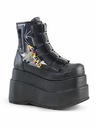 Demonia Rave Ankle Boots