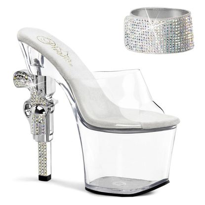 Pleaser Revolver-712 Exotic Dancer Platform Shoe