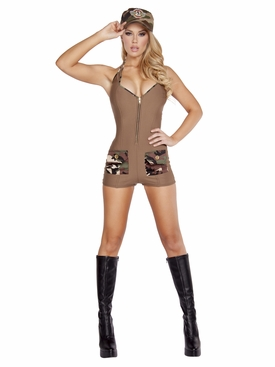 Roma 2pc Sultry Soldier Roleplay Costume