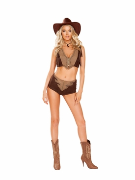 Roma 2pc Western Cowgirl Roleplay Costume