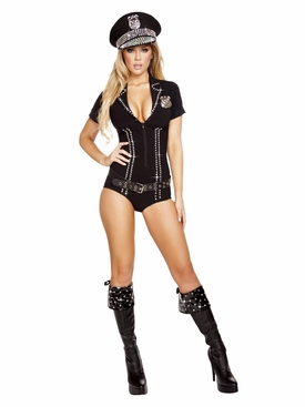 Roma 3pc Lusty Law Enforcer Roleplay Costume