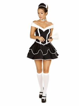 Roma 4pc Sexy Chamber Maid Roleplay Costume