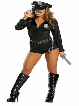 Roma 7PC Lady Law Roleplay Costume