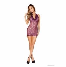 Roma Li145 Sheer Mini Dress