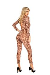 Sheer Leopard Bodysuit