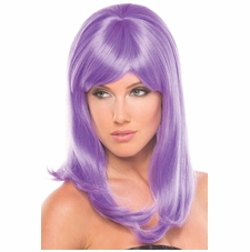 Solid Color Hollywood Wig In 15 Colors