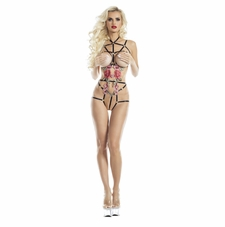 Sugar & Spice Harness Playsuit With Applique