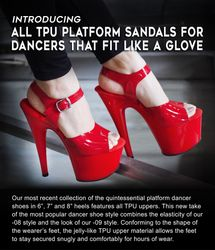 TPU Platform Dancer Shoes
