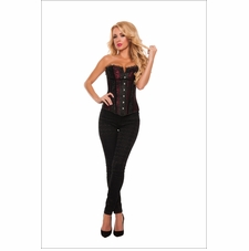 Two Tone Seduction Strapless Corset