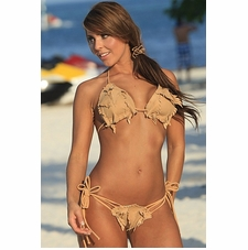 Ujena Diamond Head Chamois Sexy Bikini Swimwear