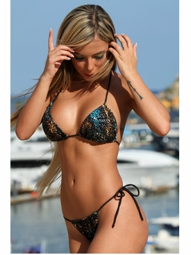Ujena Fantasy Jungle G-String Swimsuit