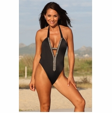 Ujena Great Gatsby One Piece Bathing Suit