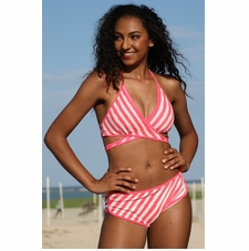 Ujena Outline Wrap Bikini Bathing Suit