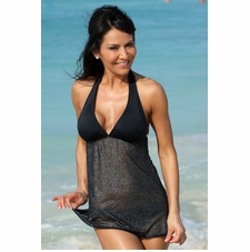 Ujena Sexy Sparkle Swim Dress Bathing Suit