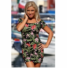Ujena Tropicana Black Bella Dress
