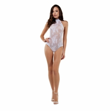 Virtuous Halter Lace Bodystocking